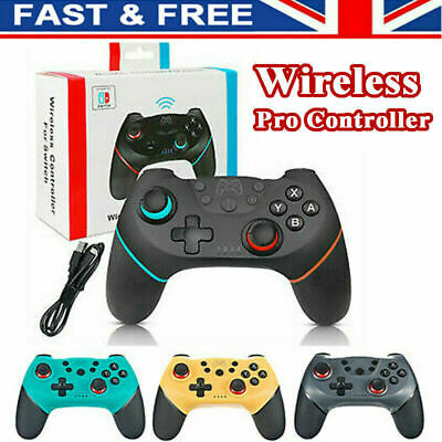 Bluetooth Wireless Gamepad Joystick Pro Controller for Nintendo Switch -UK STOCK