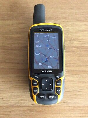 Garmin GPSMAP 62 Map GPS Receiver Excellent Condition Full Working Order