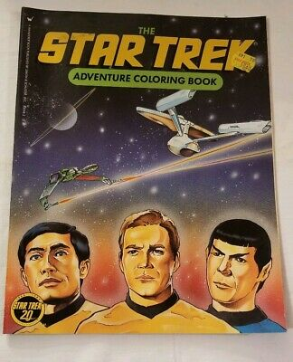 Star Trek Adventure Coloring Book Wanderer Book 1986