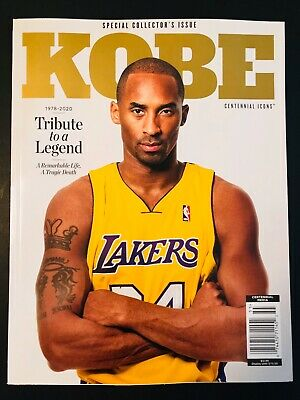 KOBE BRYANT Centennial Icons Special Collector's Tribute Issue Magazine New 8 24