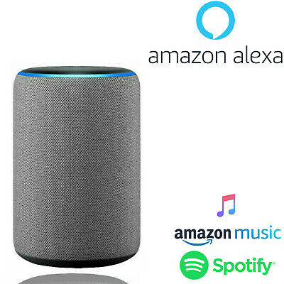 Amazon Echo (3rd Generation) Voice Control Alexa Smart Speaker - Heather Grey