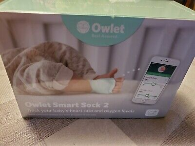 Owlet Smart Sock 2 Baby Monitor Heart Rate And Oxygen Levels BRAND NEW