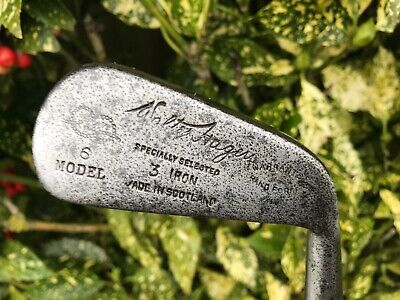 Walter Hagen Hickory Shafted Cochrane 3 Iron In Nice Playable Condition