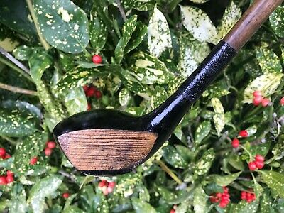 Hickory Shafted 16° Brassie In Nice Playable Condition - D2