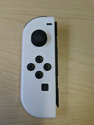 Nintendo Switch Joy Con Controller Official - White - Shell swap