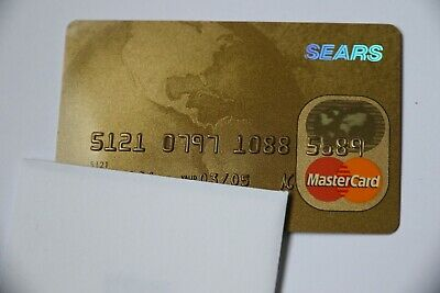 Expired 03/2005 Sears National Bank Master Card Credit Card