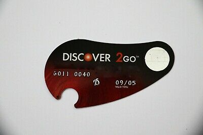 Expired 09/2005 Discover 2Go Bank USA Credit Card Limited Edition