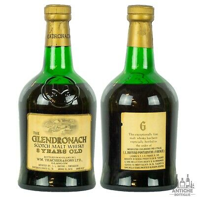 The Glendronach 8 Years Old Scotch Whisky 75 Cl 45,4°