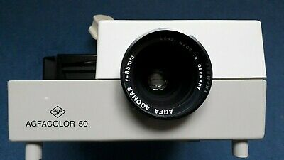 Agfacolor 50 manual slide projector, boxed & with instructions