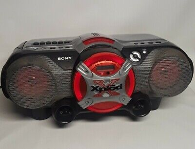 Sony Xplod CFD-G505 Cassette/Radio/CD Player Boombox Stereo