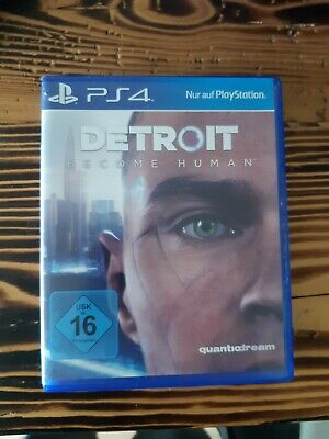 Detroit Become Human & Rise of the Tomb Raider Ps4 (wie neu)