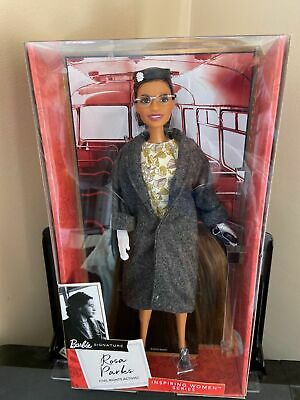 Barbie Inspiring Women Rosa Parks Doll New in Box , NRFB