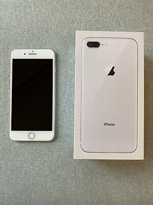 Apple iPhone 8 Plus 64GB A1897 (GSM) (Unlocked) - Silver (EXCELLENT CONDITION)