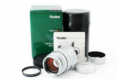 Rollei Planar 80mm F/2.8 HFT Lens for Leica L39 & M Adapter w/Box [Excellent++]