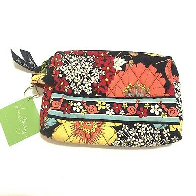 Vera Bradley Small Cosmetic Bag In Happy Snails Retired Pattern NWT