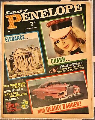 Lady Penelope comic #1 1966 w/ FREE GIFT Signet Ring Thunderbirds Gerry Anderson
