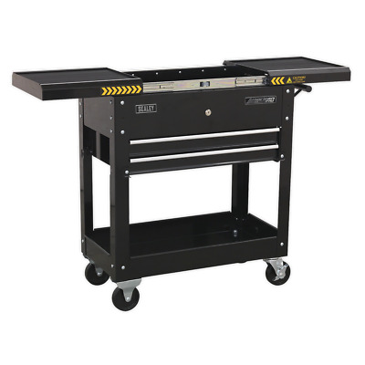 Sealey Mobile Tool & Parts Trolley - Black - AP705MB