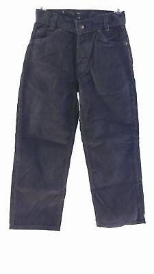 Arizona Boys size 8 Corduroy Color Denim 5-Pocket Straight Leg Jeans Pant Navy