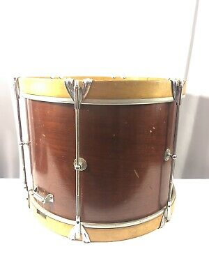 VINTAGE LUDWIG WLF Chicago USA Remo Weather King SNARE DRUM 1960s Wood Trim