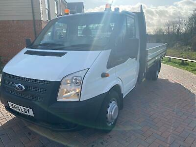 2014 Ford Transit 2.4 dropside ENGINE JUST BEEN REBUILT CHASSIS CAB Diesel Man