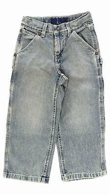 Old Navy Painter Type Carpenter Regular Boys size 5 Cotton SandBlasted Jeans