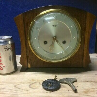 smiths enfield art deco mantle clock