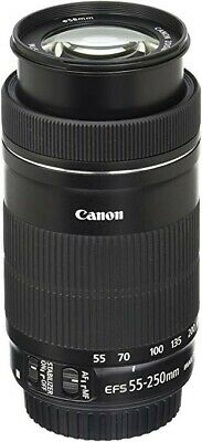 Canon EF-S 55-250mm f/4.0-5.6 IS STM Lens (Used) Excellent Condition