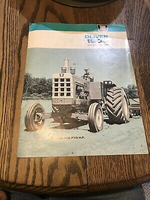 1963 Oliver 1900 Series B 2-4WD Tractor Sales Brochure