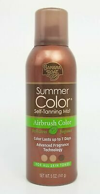 x3 Banana Boat Summer Color Self-Tanning Mist Airbrush Color 5 oz All Skin Tones
