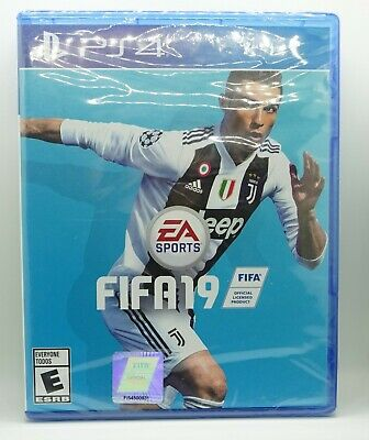 FIFA 19 - Standard Edition (Sony PlayStation 4, 2018, SEALED)