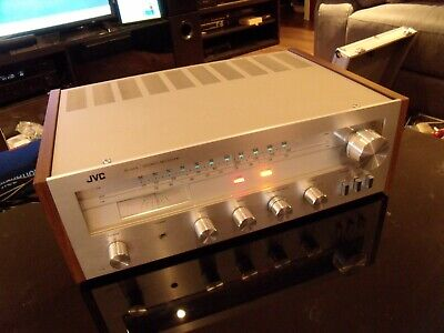Jvc Jr-S61L Vintage Hifi Stereo Receiver Amp With Phono Stage Fully Serviced !