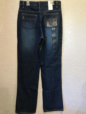 New CINCH Boy's Black Label / Relaxed Fit jeans size 18 SLIM