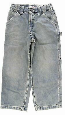 Old Navy Painter Type Carpenter Regular Boys size 7 Cotton SandBlasted Jeans