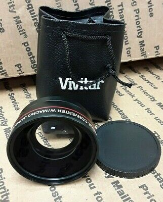 Vivitar HD4 Optics 0.43x Pro HD Wide Angle Used.....
