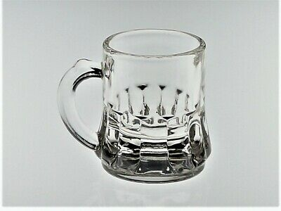 Federal Gem Tone Rumpus 1-Oz Shot Glass/Toothpick Holder/Mini Beer Mug - Clear