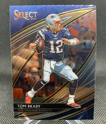 2019 Select Tom Brady Field Level Base Sp New England Patriots #201 Goat