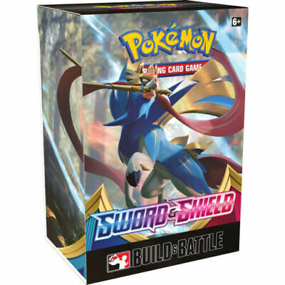 Pokemon TCG Sword and Shield Build & Battle Kit Box New Sealed