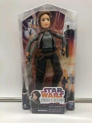 Star Wars Forces of Destiny Figure Jyn Erso - Sealed NEW HASBRO DISNEY KENNER