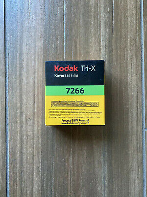 NEW! Kodak Super 8mm Movie Film Tri-X 7266 B&W Reversal 50 ft Roll(Sealed)