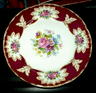 Vintage ROYAL GRAFTON BONE CHINA 7.75 Plate ACADEMY ENGLAND