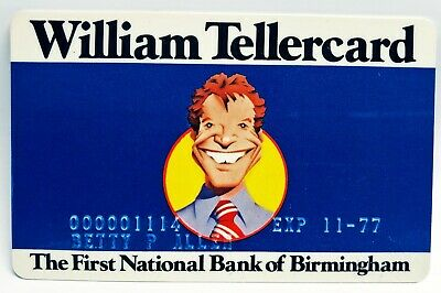 Birmingham, Alabama - First National Bank of Birmingham - William Tellercard ATM