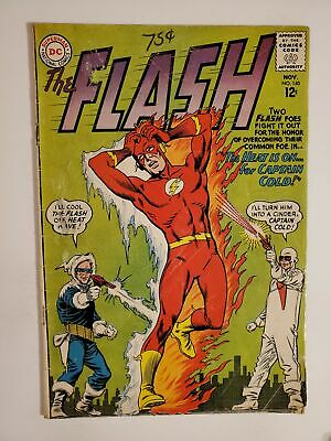 """FLASH #140 (GD+ 2.5) 1963 1st COVER & APPEARANCE OF HEAT WAVE!"""" SILVER AGE"""
