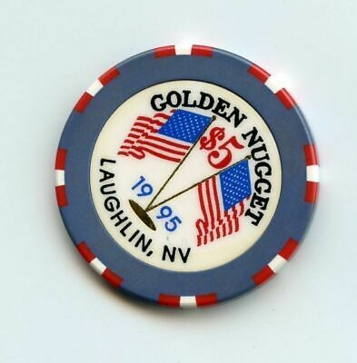 5.00 Chip from the Golden Nugget Casino in Laughlin Nevada 1995
