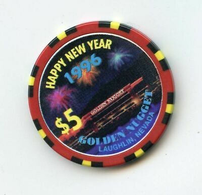 5.00 Chip from the Golden Nugget Casino in Laughlin Nevada 1996