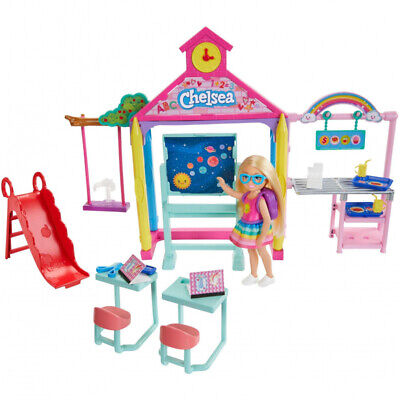 Barbie GHV80 Club Chelsea Doll with School Playset & Accessories