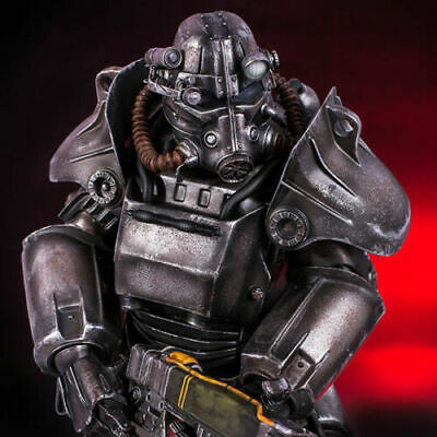 Gaming Heads Fallout T-45 Power Armor Statue Figure Brand New Sealed