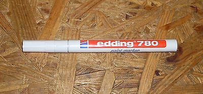 Edding Glanzlack-Marker 780 , 0,8mm Blanco