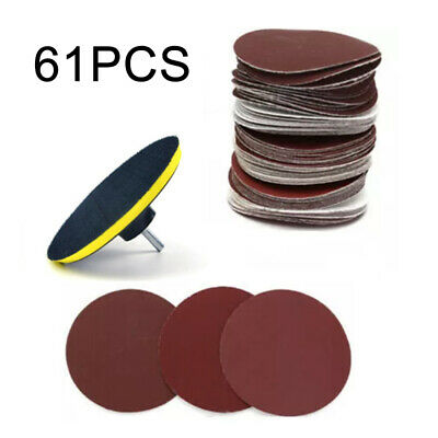Pad with adapter Sanding Paper Parts Sand Paper Mixed 6 Inch Abrasives