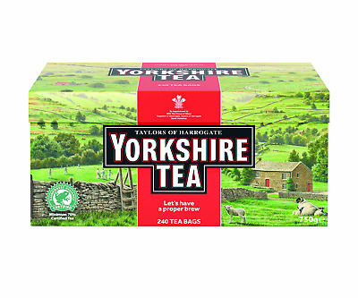 Harrogate Yorkshire Red, 240 Teabags Free Shipping
