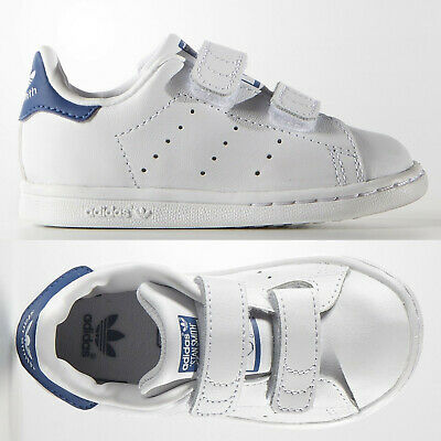 SALE adidas Originals Stan Smith Baby Boys Girls Trainers White SIZE 3 Infant
